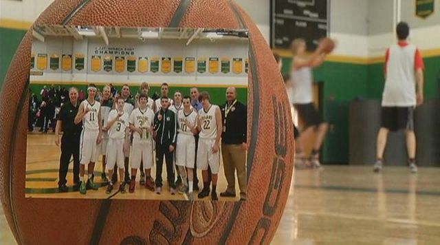 West Seneca East Boys Rally for 'Papa'