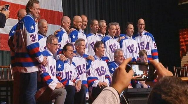 Team Gathers For 35th Anniversary Of The Miracle On Ice