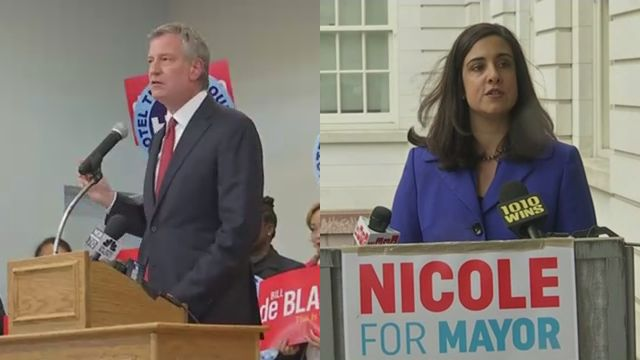 De Blasio raises more than $400k in most recent fundraising filing period; Republican rival Malliotakis raises $250k