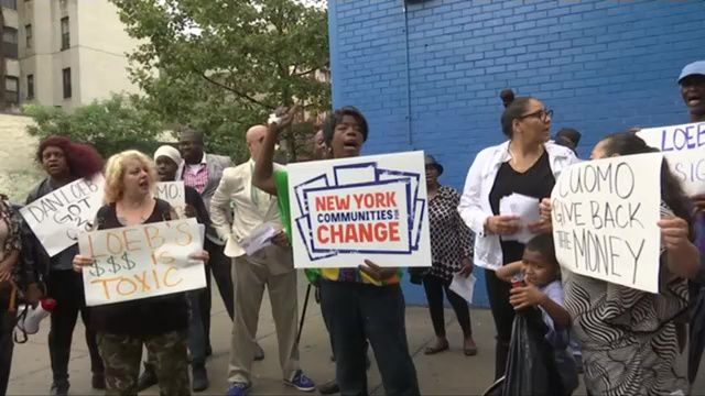 Protesters call for resignation of Success Academy board chair for Facebook comments