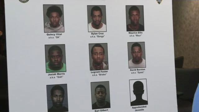 Gang bust in Brownsville nabs crew connected to seven shootings, DA says