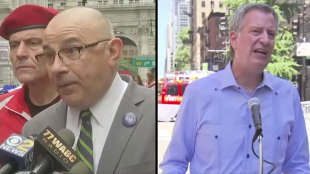 Congestion pricing an 'inconceivable' option given state Senate, de Blasio says