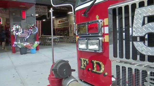 September 11th commemoration at Midtown firehouse with the most casualties helps survivors cope
