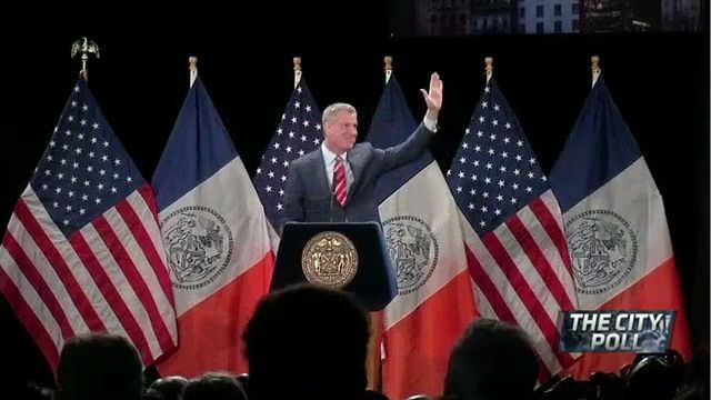 The City Poll: New Yorkers Assess de Blasio's Agenda