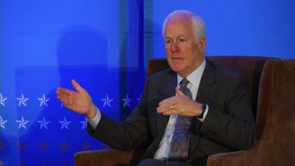 Sen. John Cornyn removes self from consideration for Federal Bureau of Investigation  director role