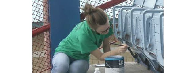 Day of Caring Gives Elmira Community A Lift