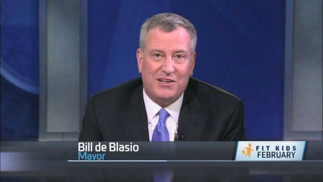 Fit Kids Take It From Me: Mayor de Blasio