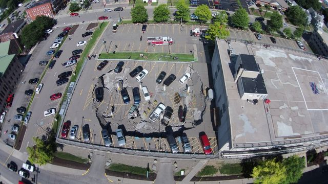 State of Emergency in Effect Following Johnson City Parking Garage Collapse