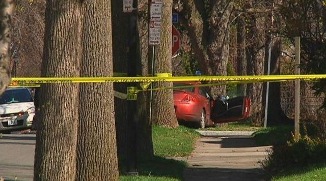 19th Ward Neighbors Hear Gunfire, Police Find Man Dead Inside Crashed Car
