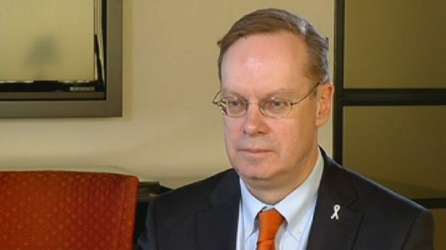 Syracuse University Chancellor Kent Syverud Speaks on NCAA Investigation