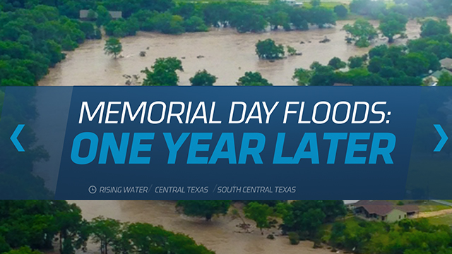 TWC News Austin Memorial Day Floods One Year Later