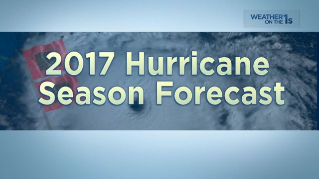 """NC State Researchers Forecast a """"Normal"""" Hurricane Season for 2017"""