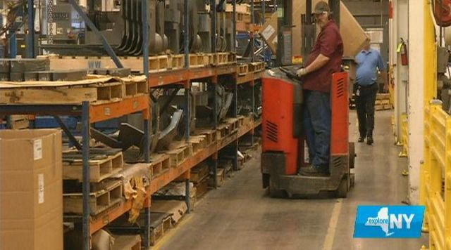 Raymond Corporation in Chenango County Helps Industry Move