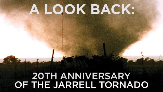 Jarrell Tornado Anniversary