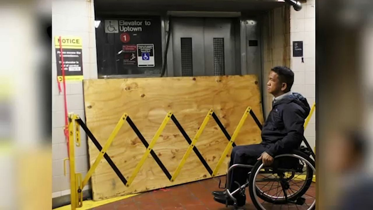Report: Many MTA subway riders with disabilities still denied access