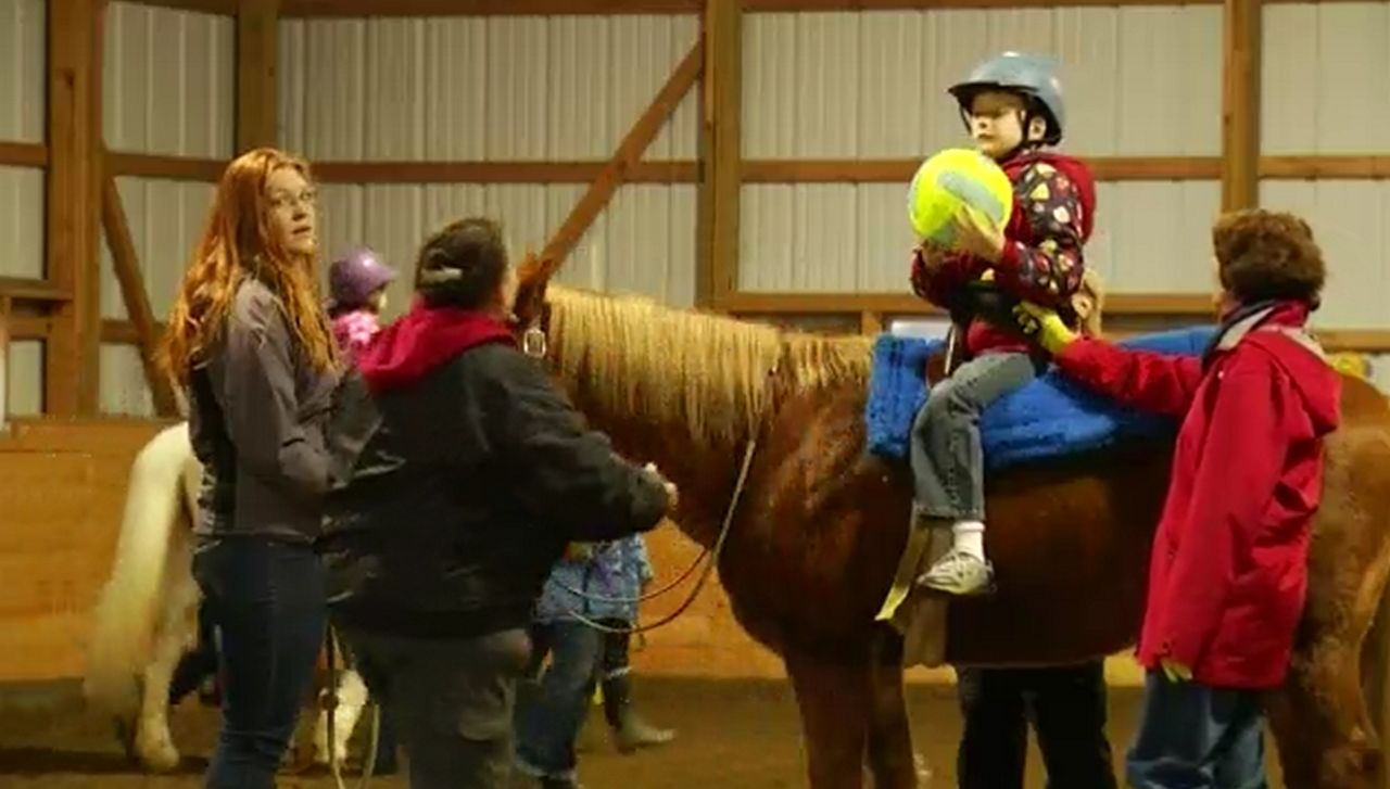 Stewart's Holiday Match: Helping Horse Program for Kids