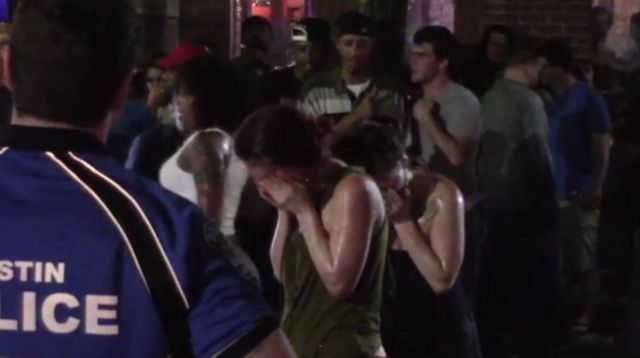 YouTube Video Shows APD Using Pepper Spray on SXSW Crowd