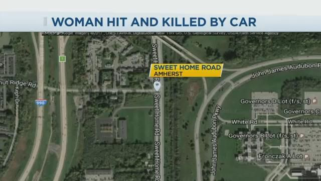 University at Buffalo student struck, killed while crossing Western NY road