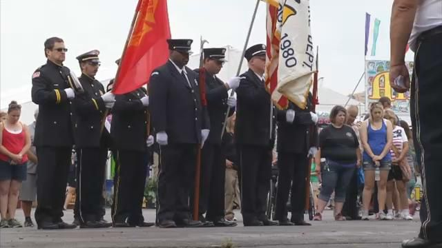 Firefighters honored at day 3 of Erie County Fair
