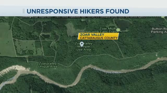 Parents killed, kids hospitalized when family tumbles off cliff in NY