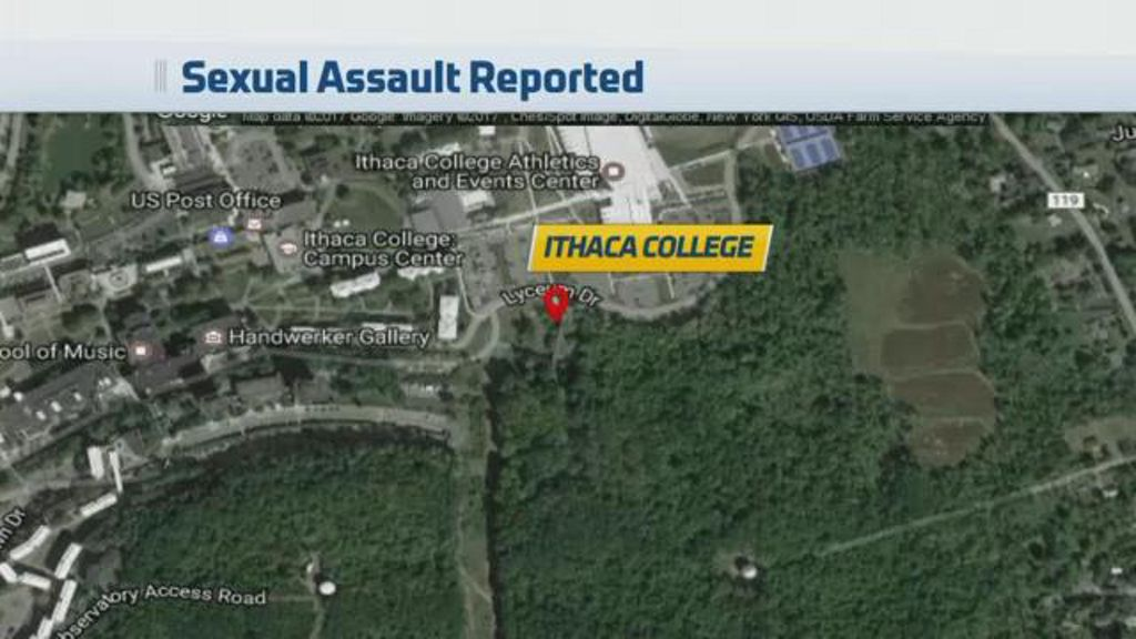 Campus Map Ithaca College.On Campus Rape Reported At Ithaca College