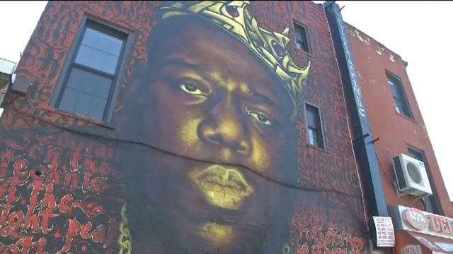 A councilman 39 s promise to biggie 39 s mother will be kept in for Biggie smalls mural brooklyn