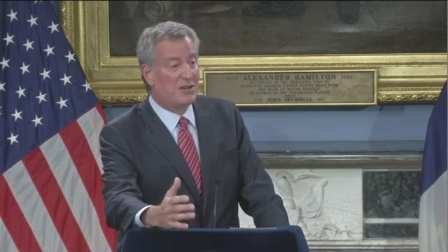 De Blasio Praises State Extending Mayoral Control of City Schools