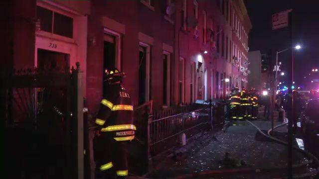 red cross assisting four families after two alarm fire in
