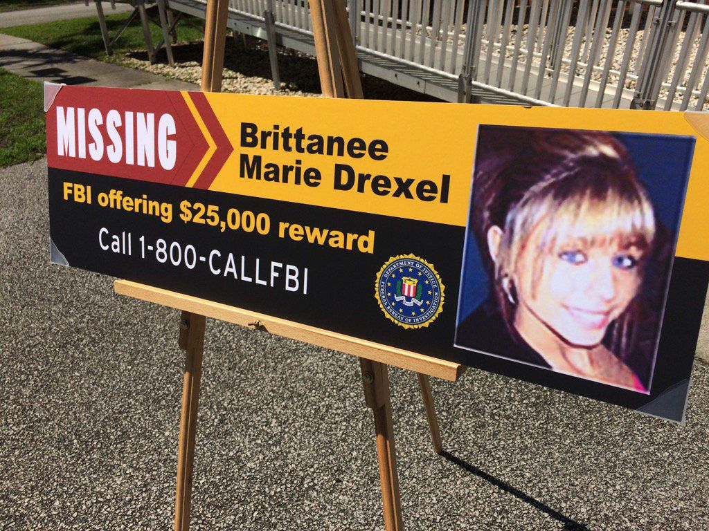 Brittanee Drexel Victim of Homicide in South Carolina After Vanishing in 2009