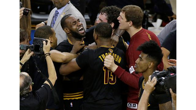 James, Cavaliers Win Thrilling NBA Finals Game 7, 93-89 ...