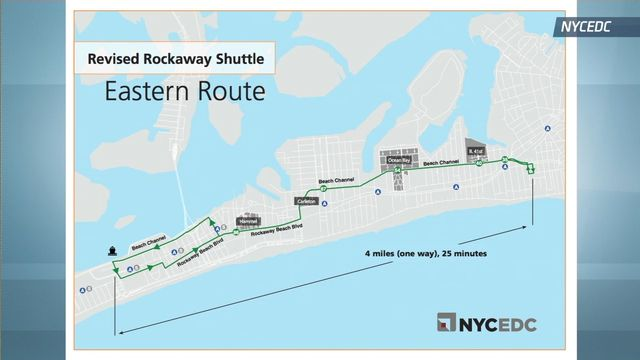 Rockaway Residents to Get Free Shuttle Buses That Will Connect to Citywide Ferry Terminal