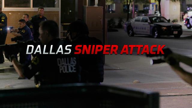 TWC News Coverage of Dallas Sniper Attack