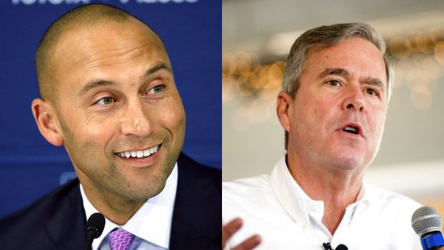 Report: Group Led by Jeter and Jeb Bush Win Auction to Buy Marlins