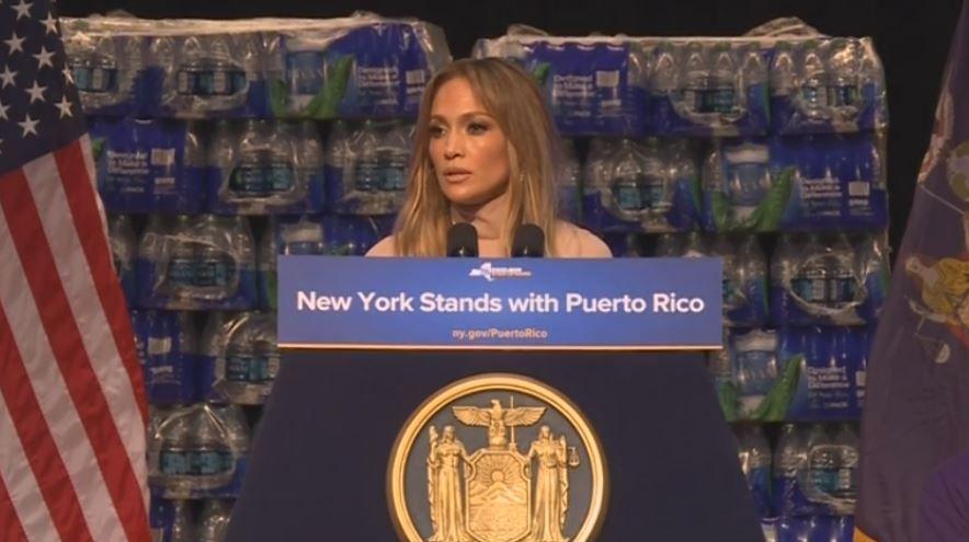 Jennifer López donará un millón de dólares a Puerto Rico