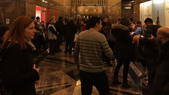 Small fire erupts in Manhattan's Empire State Building underground level