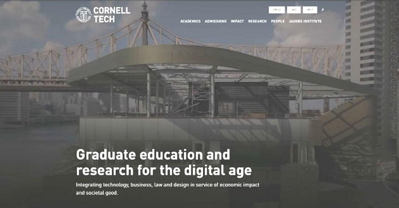 Inauguran la universidad Cornell Tech en Roosevelt Island