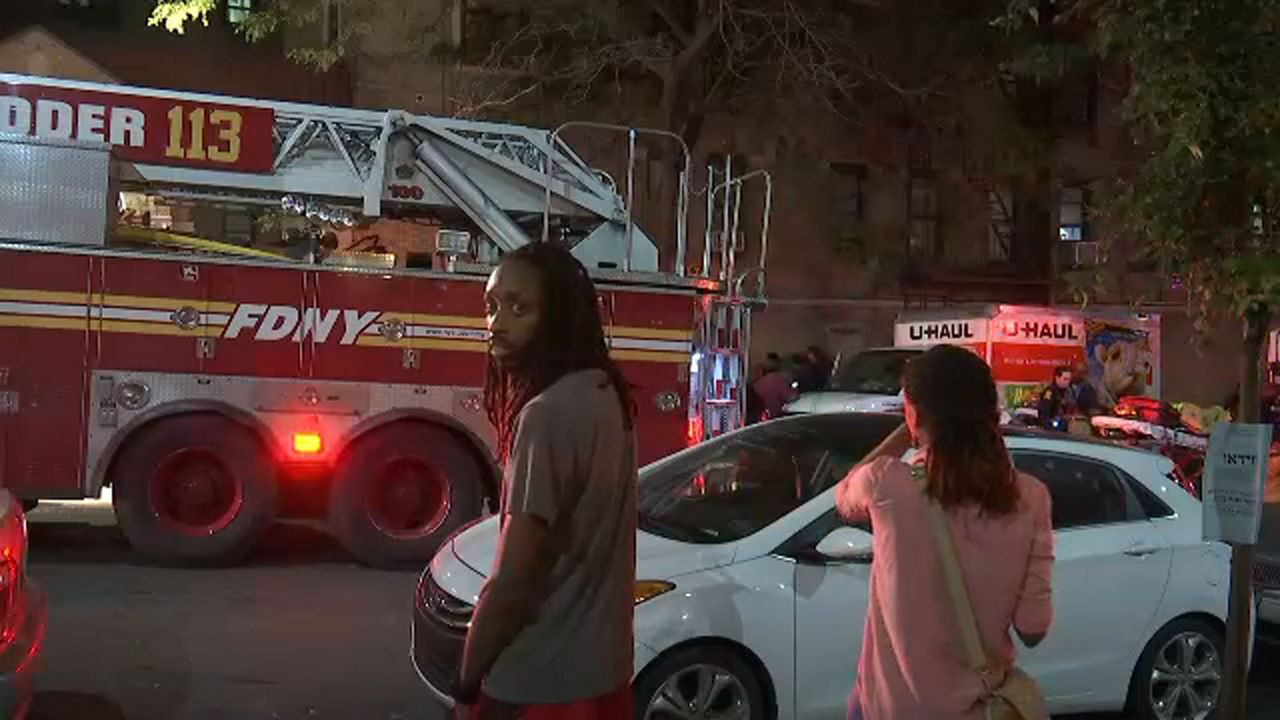 Dead, 4 Hurt in Roaring Brooklyn Apartment Fire