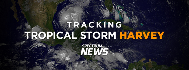 Spectrum News Tracking Hurricane Harvey