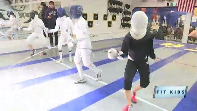 Fit Kids February: Kids Strengthen Muscles, Mind at Fencing Academy
