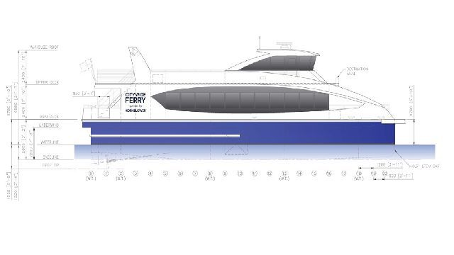 Blueprints Offer Glimpse of New Citywide Ferries