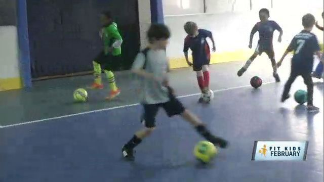 Indoor Soccer Club Keeps Kids Warm, Dry and Fit in Winter Weather
