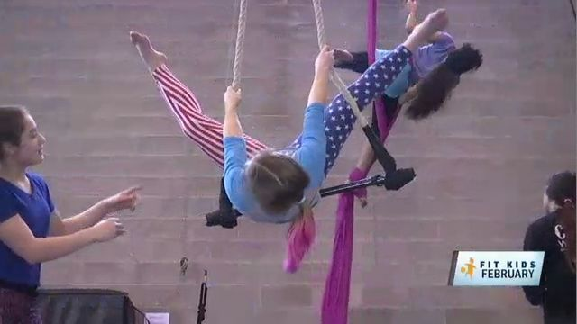 Fit Kids: Children Get in on the Act at Circus Warehouse in Queens