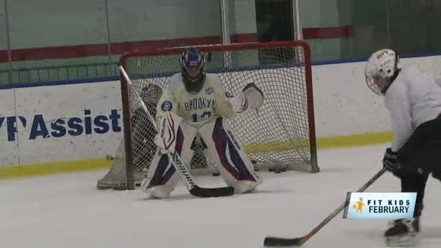 Brooklyn Organization Gives Kids a Chance to Experience Hockey's Nonstop Action