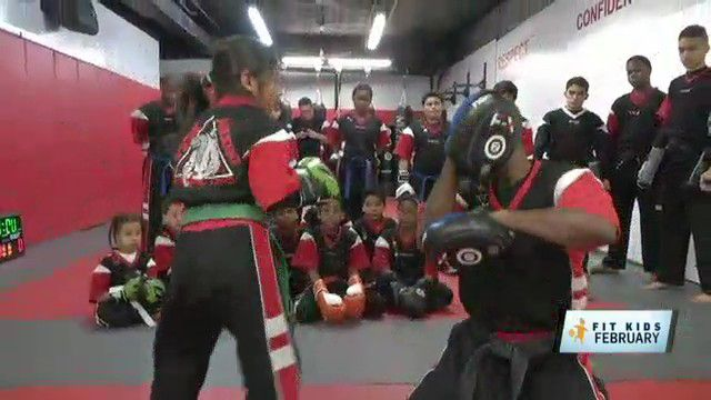 Fit Kids: Former Champ Teaches Karate Kids in the Bronx