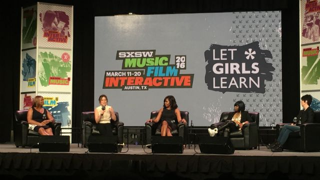 First Lady Michelle Obama Discusses 'Girl Power' at SXSW Music Keynote