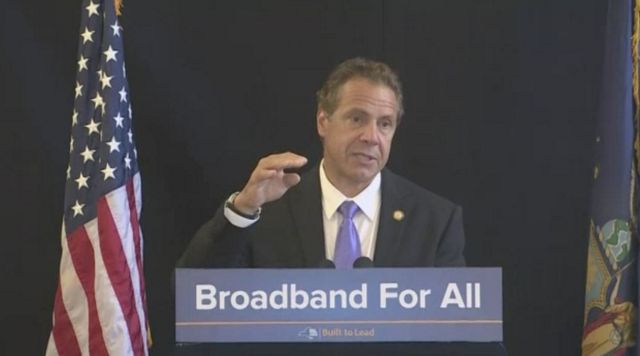 Cuomo: High-Speed Broadband Internet Is Erie Canal of Our Time