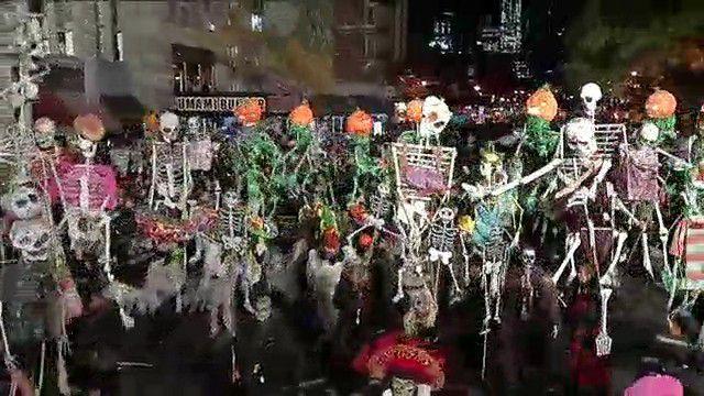 NY1 Online: Full NY1 Coverage of 2015 Halloween Parade