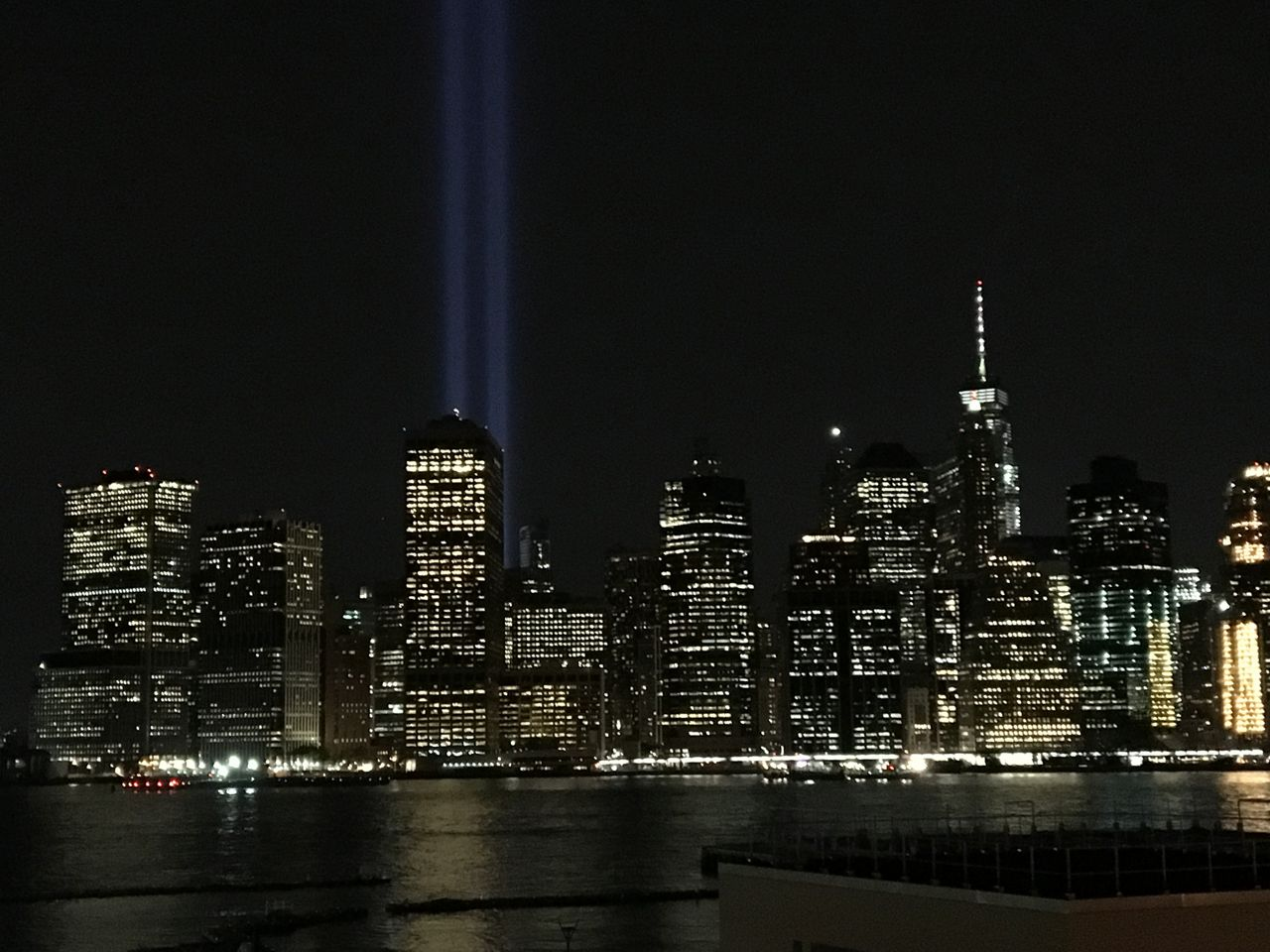 Tribute in Light honors victims of September 11th attacks