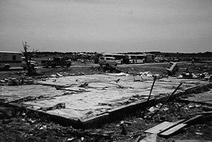 Jarrell Tornado Damage