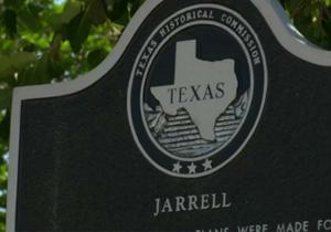 Jarrell Tornado Historical Marker